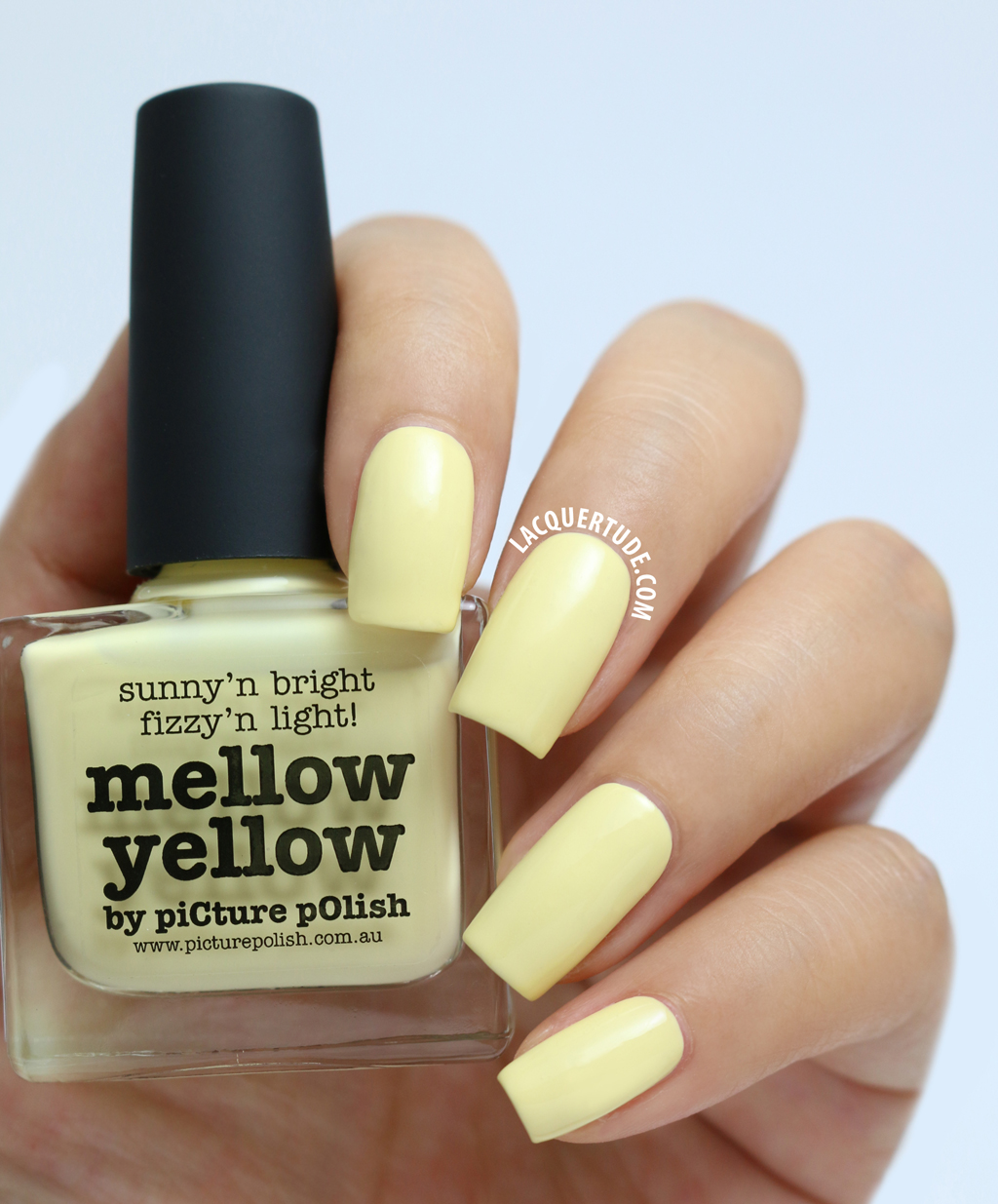 piCture pOlish Swatches: Mellow Yellow, Malt Teaser, Flirt, Sunset ...