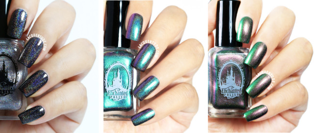 Enchanted Polish Swatches: Kids, Hey Jude, Djinn in a Bottle