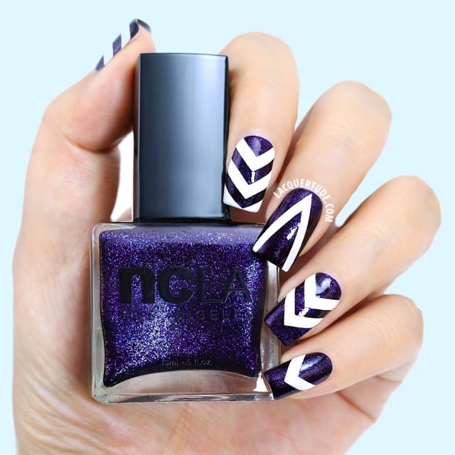 ncLA Drop Dead Gorgeous nail artIG