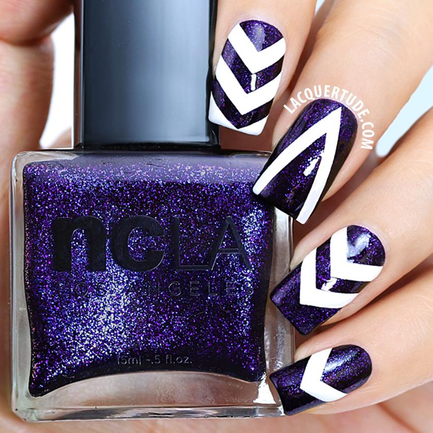 ncLA Drop Dead Gorgeous nail artIG Macro