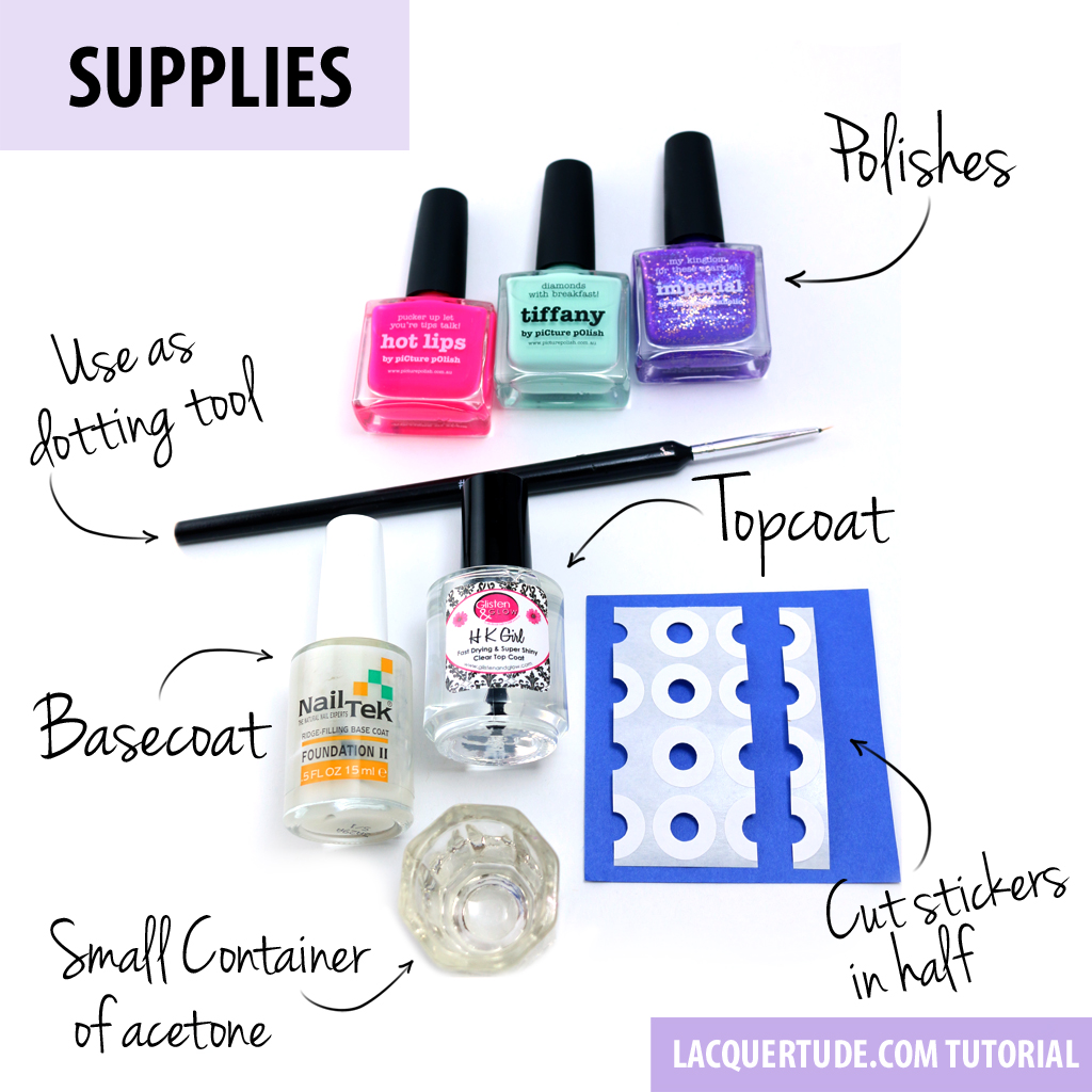 Lacquertude Owl Nail Art Supplies