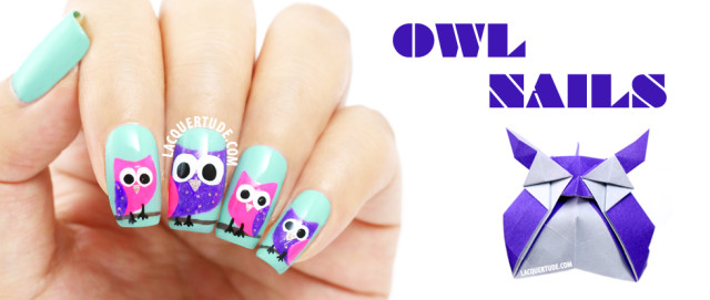 piCture pOlish Swatches & Owl Nail Art feat. Tiffany, Imperial & Hot Lips