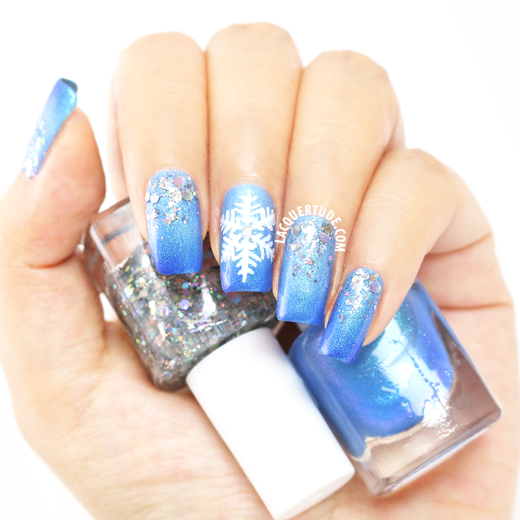Lacquertude_FUN WinterWonderland Nail Art New