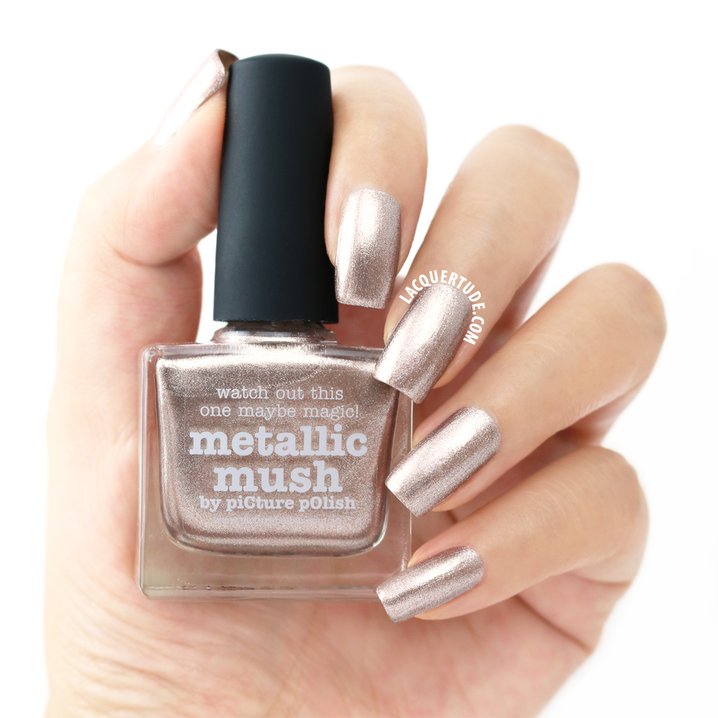 Lacquertude_Metallic Mush Swatch