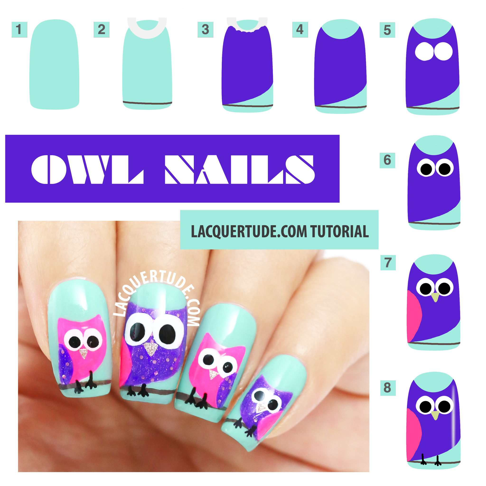 OWL NAILS Tutorial IG
