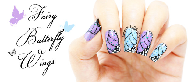 piCture pOlish Geode, Jasmine, Starry Night Swatches & Review + Fairy Butterfly Nail Art