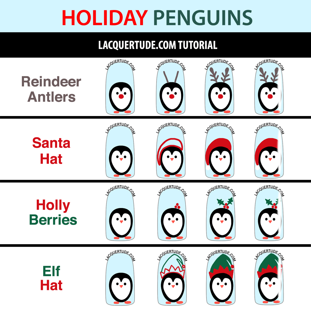 Holiday Penguin Decorations Tutorial