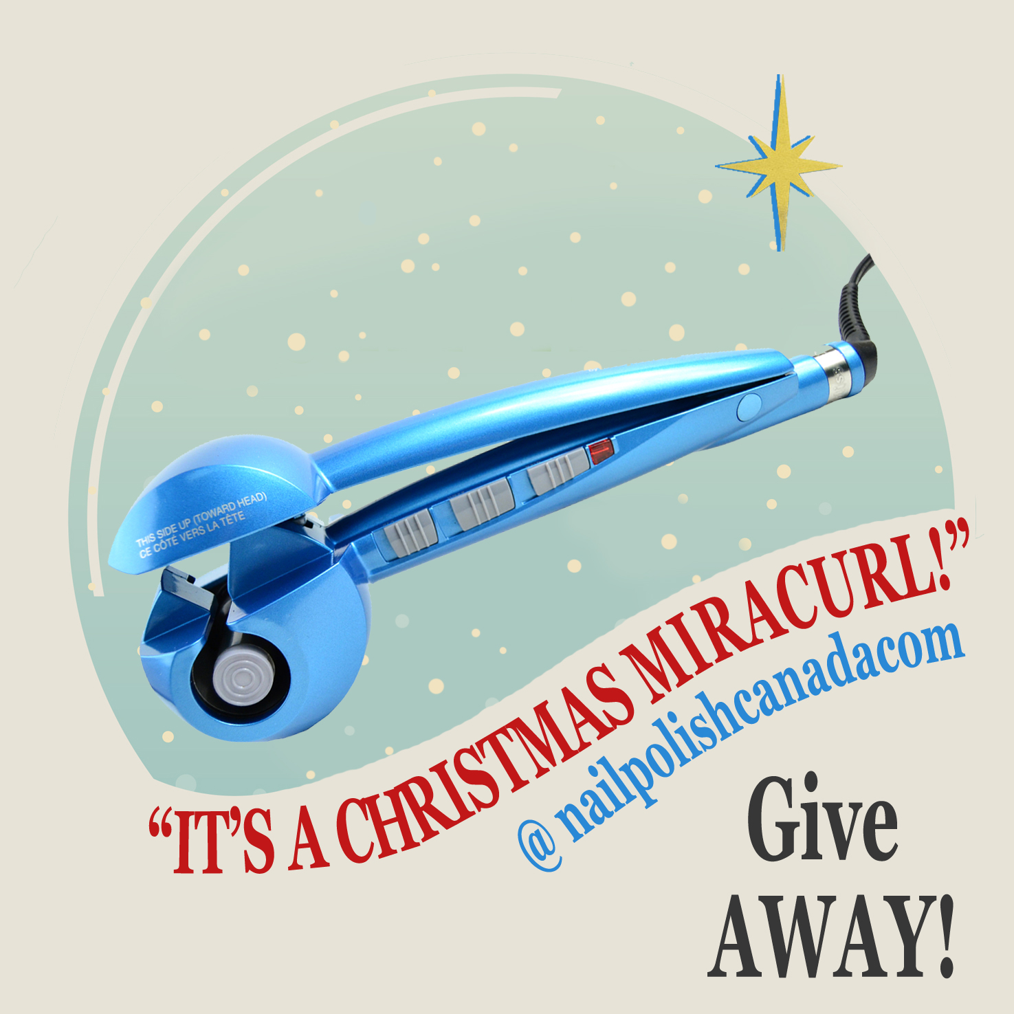NPC Giveaway Babyliss Miracurl Promo Poster