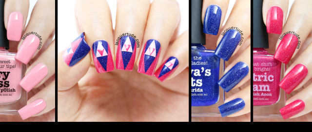 piCture pOlish Swatches, Review & Nail Art Feat. Freya's Cats, Electric Dream, Fairy Floss