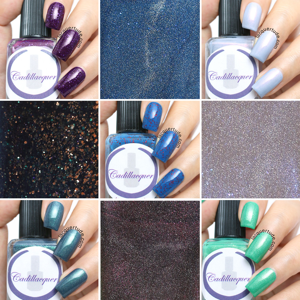 Cadillacquer-Seek-The-Fire-Collection-Swatches-Lead