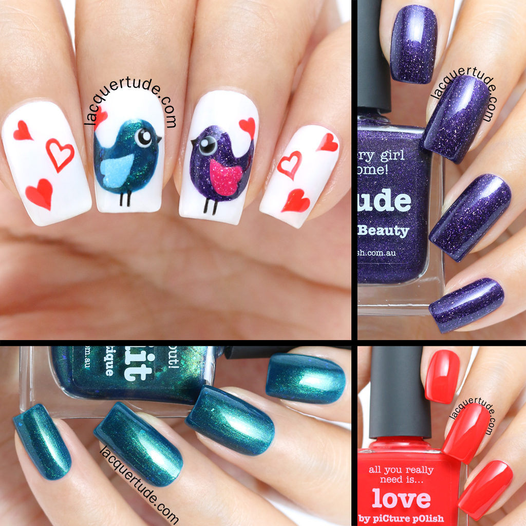 Lacquertude-Love-Birds-Nail-Art-1