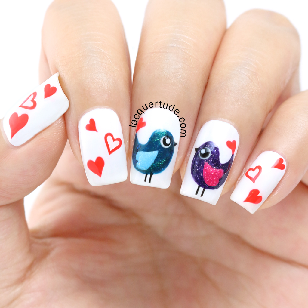 Lacquertude-Love-Birds-Nail-Art-2
