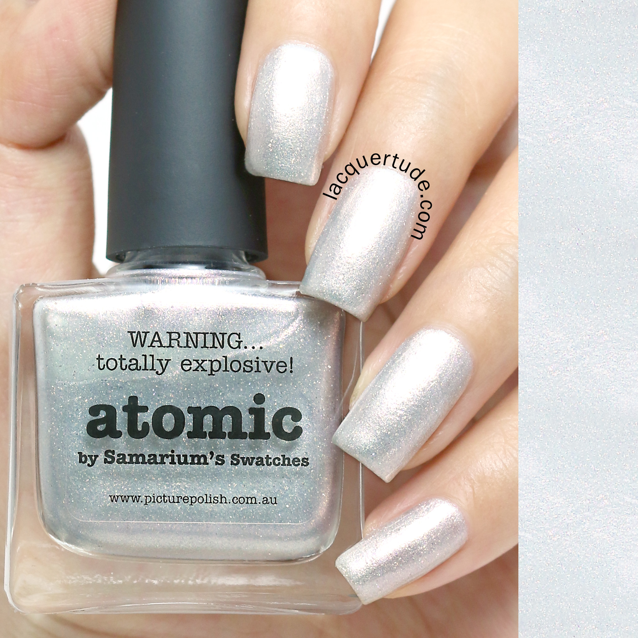 Lacquertude_Picture Polish Atomic Swatch