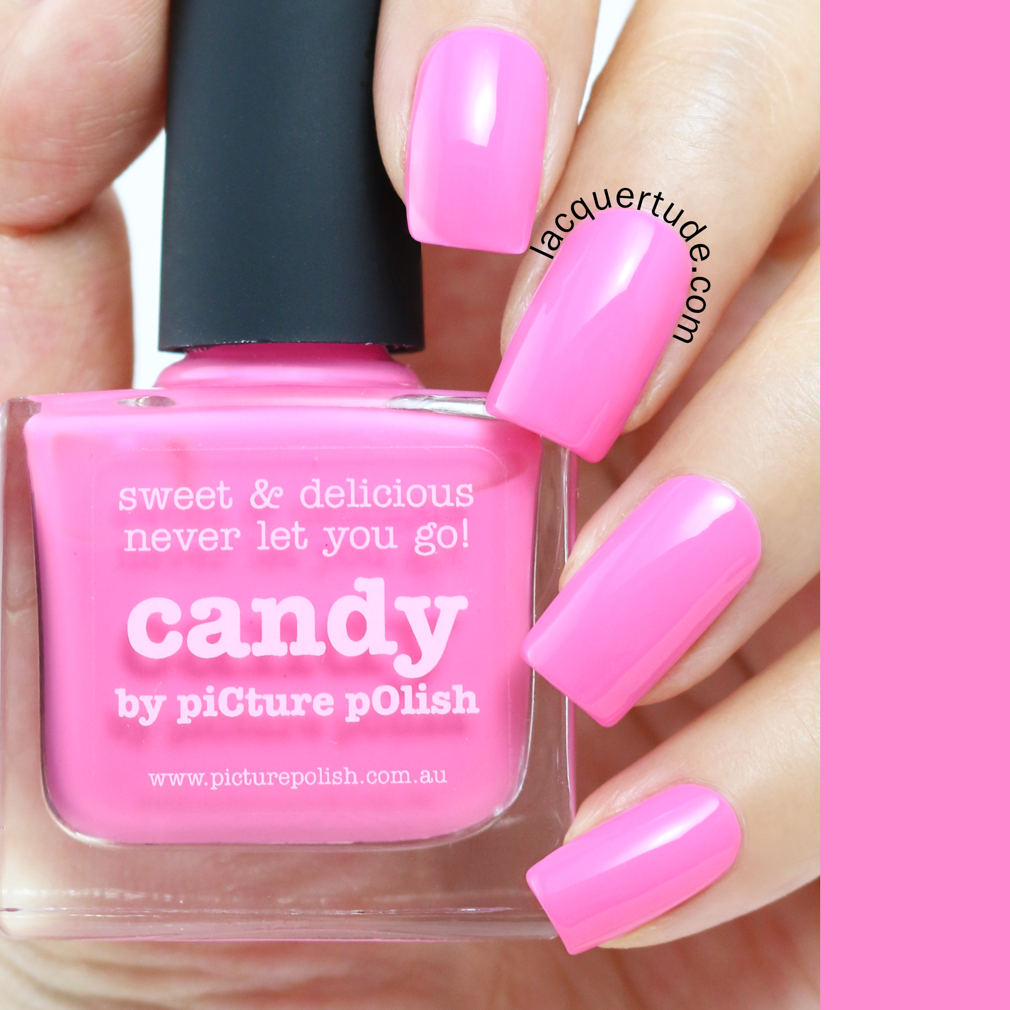 Lacquertude_Picture Polish Candy Swatch