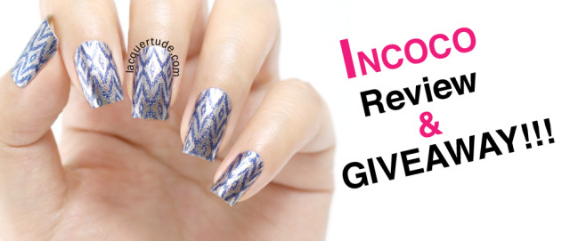 INCOCO Real Nail Polish Appliques: Review & GIVEAWAY!