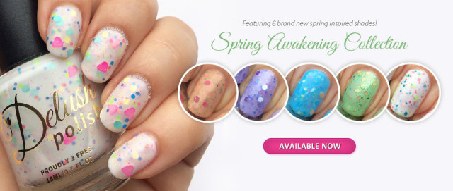 PRESS RELEASE: Delush Polish Spring Awakening Collection!