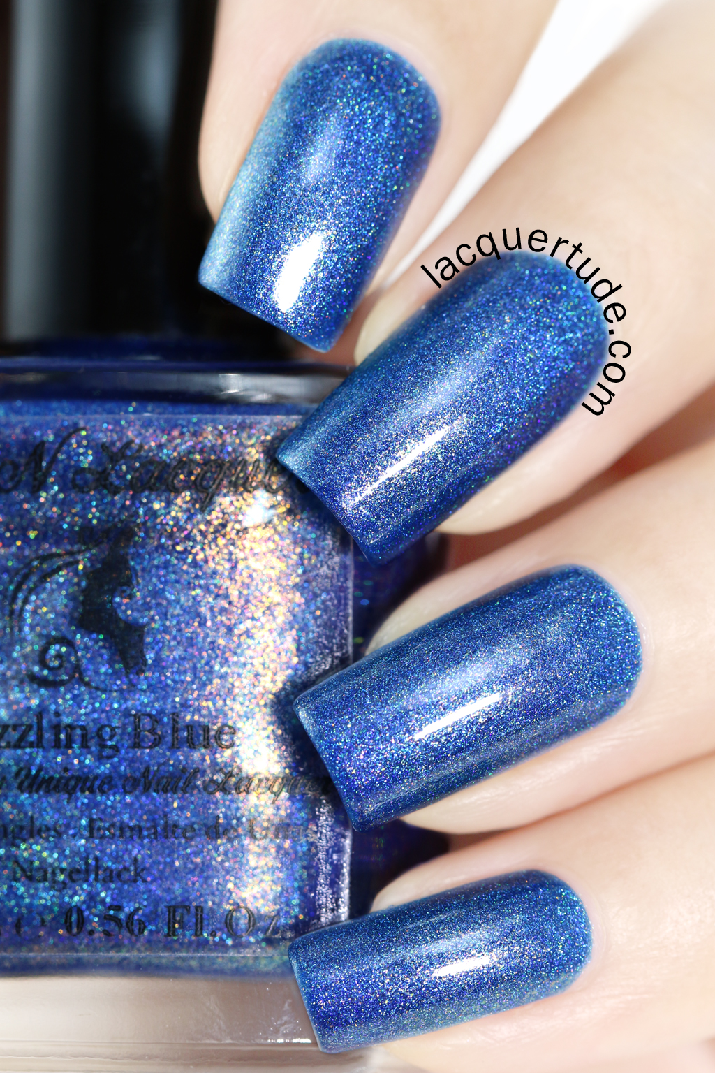 FUN-Lacquer-Dazzling Blue-Swatch1