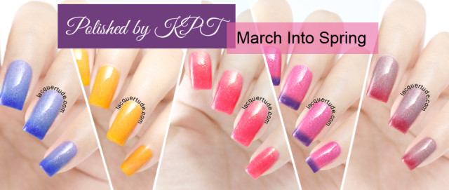 Polished by KPT: March Into Spring Collection Swatches & Review