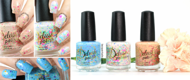 Delush Polish Spring Awakening Collection Swatches & Review: Part II