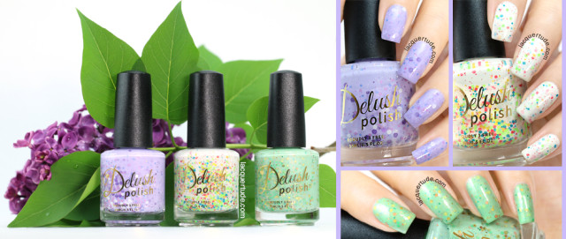 Delush Polish Spring Awakening Collection Swatches & Review: Part I