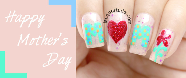 Mother's Day Nail Art + Picture Polish Douceur, Dorothy Swatches