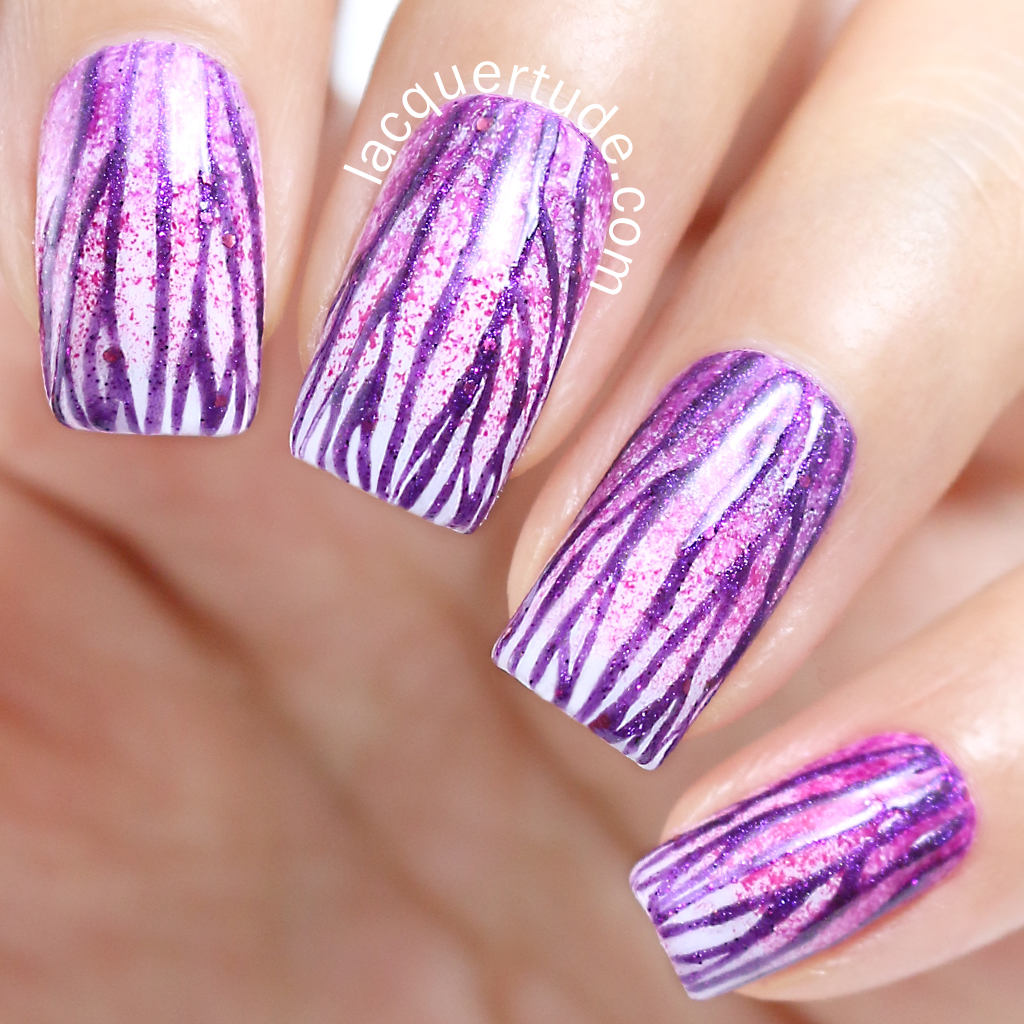 Lacquertude-Radiant-Orchid-Nail-Art1