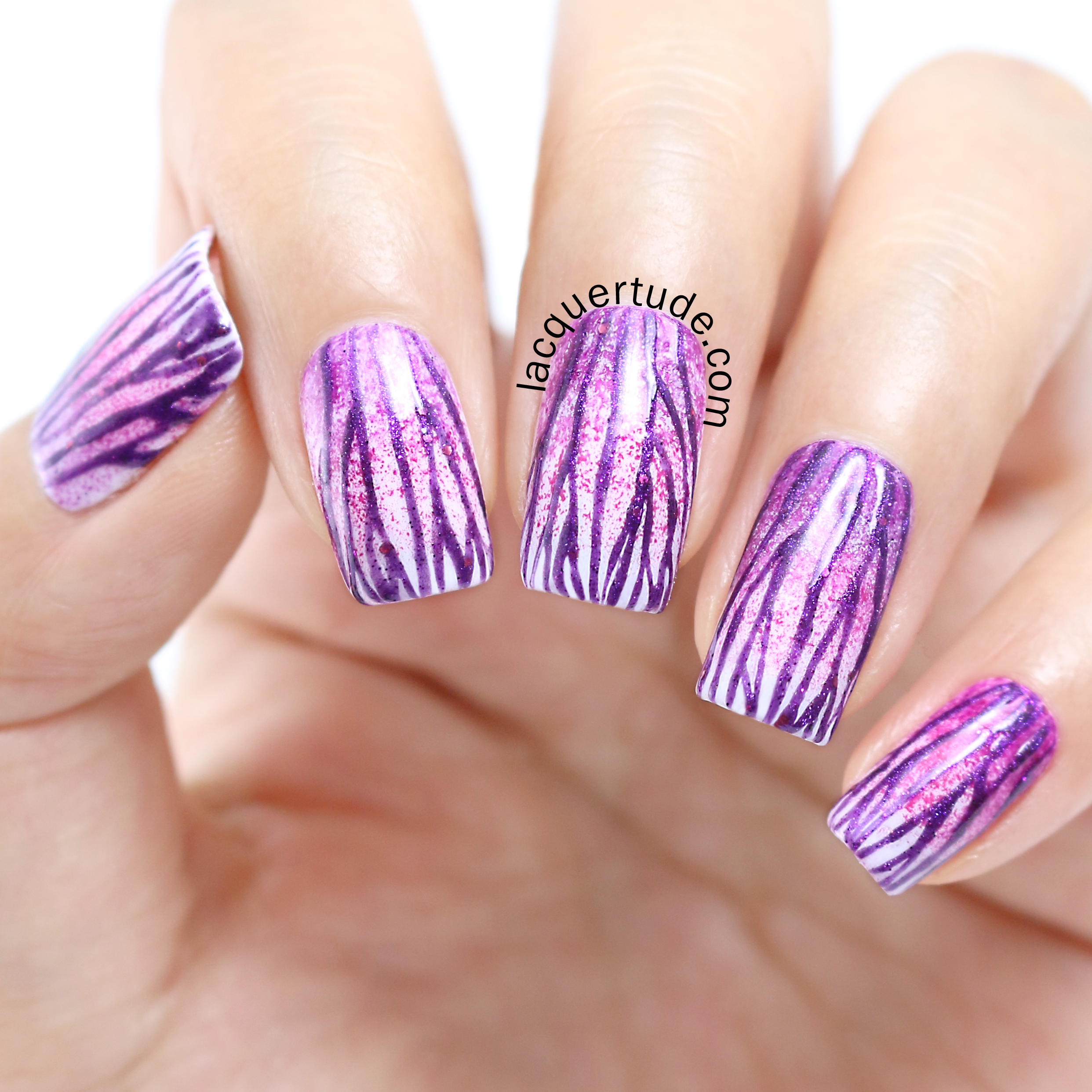 Lacquertude-Radiant-Orchid-Nail-Art2