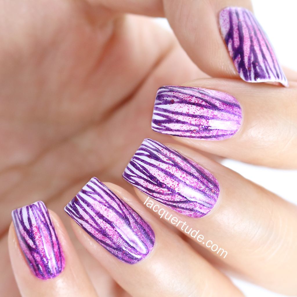 Lacquertude-Radiant-Orchid-Nail-Art3