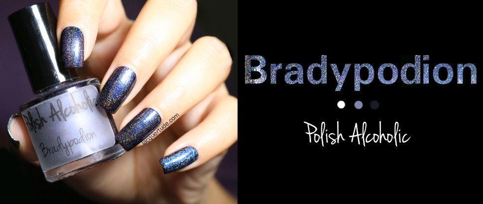 Polish Alcoholic Bradypodion (Holo//Multichrome Fascination!): Swatches & Review