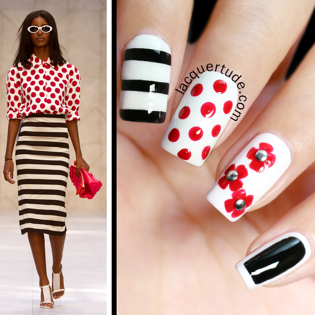 Butter-London-Come-To-Bed-Red-Burberry-Prorsum-Petals-Nail-Art2
