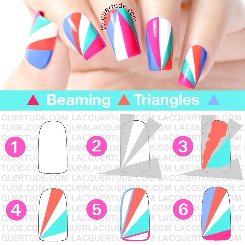Lacquertude-Beaming-Triangles-Nail-Art-TUTORIAL