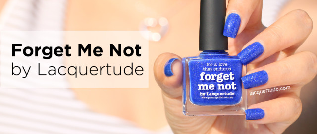 Forget Me Not by Picture Polish X Lacquertude